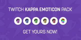 Twitch Rainbow Kappa