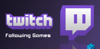 Twitch Following Games