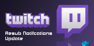 Twitch Resub Notification Update