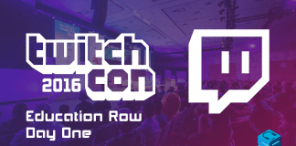 TwitchCon 2016 Education Row Day One