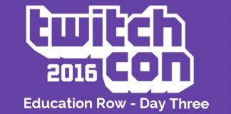 TwitchCon Education Row Panels