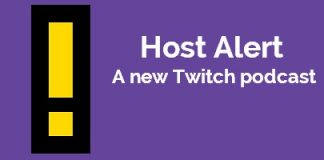 Host Alert Twitch Podcast