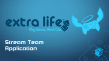 ExtraLife Stream Team Application