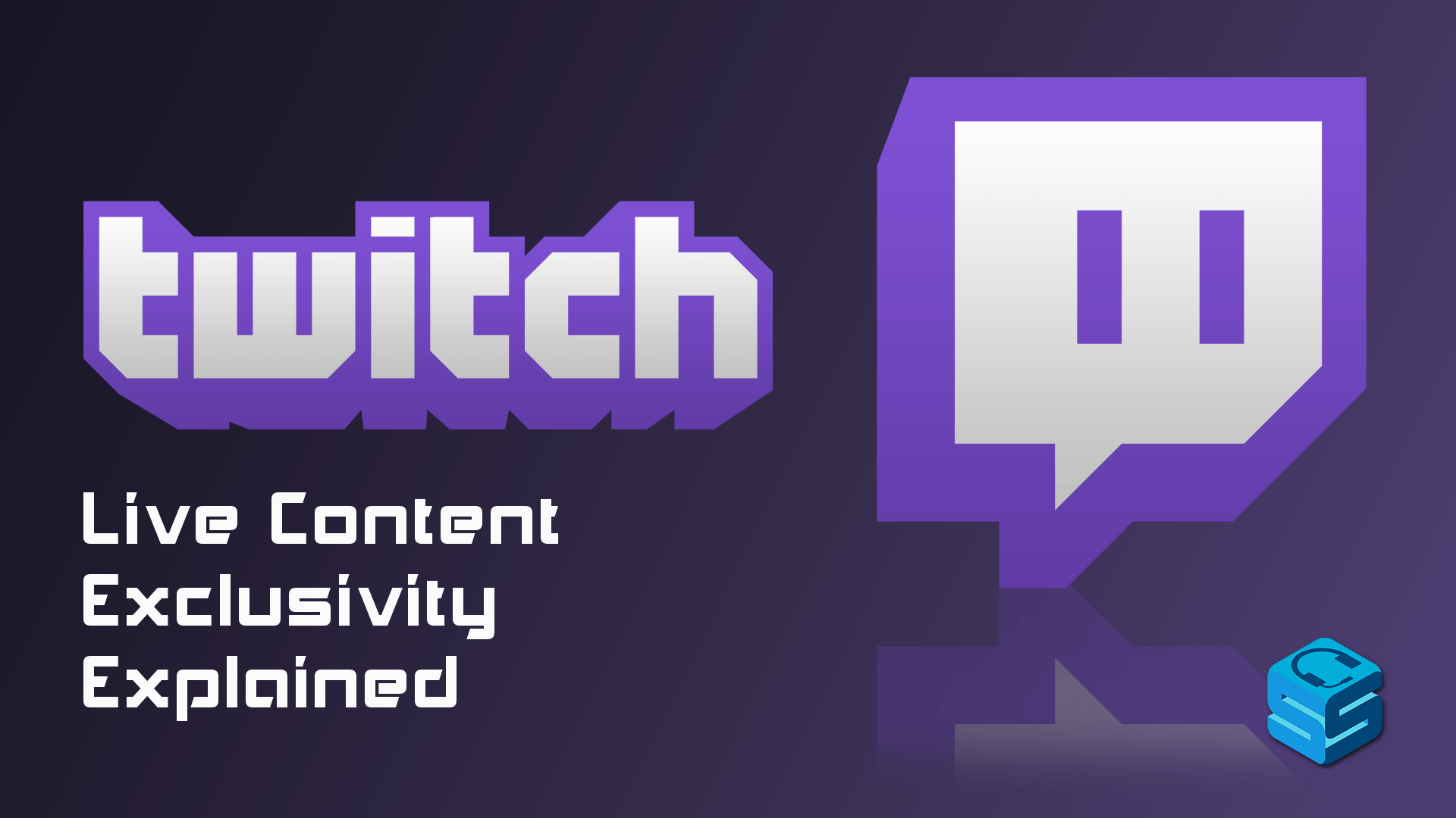 what does live content exclusivity mean for twitch affiliates