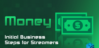 Initial Business Steps for Streamers
