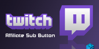 Twitch Affiliate Sub Button