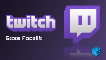 Twitch Stats Facelift