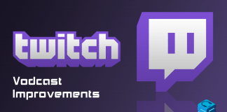 Twitch Vodcast Improvements