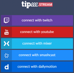 TipeeeStream Login