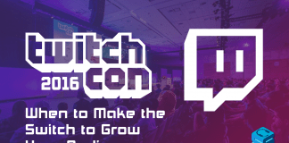 When to make the switch to grow your audience TwitchCon 2016