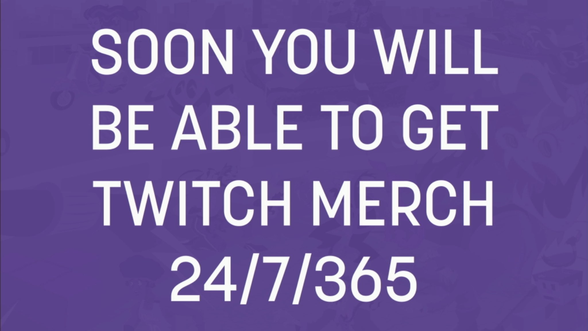 Twitch Merch