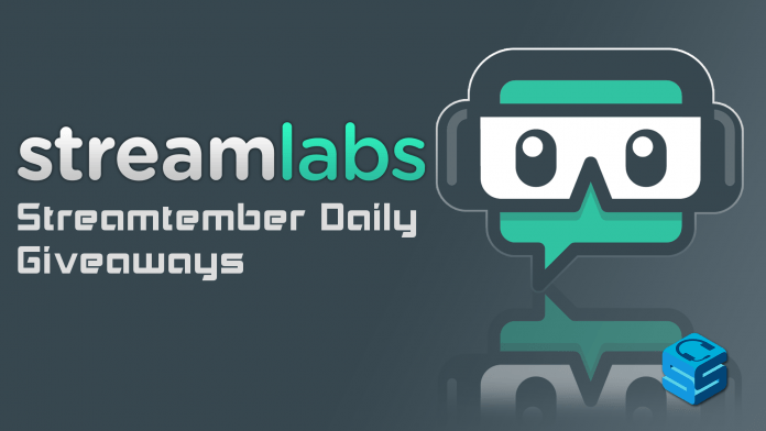 Streamlabs Streamtember Daily Giveaways