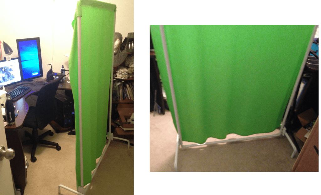 Do it yourself green screen