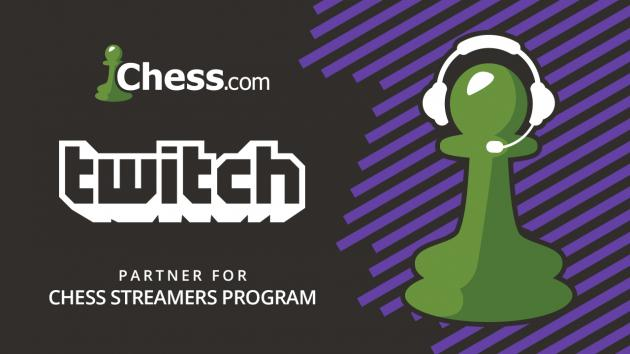 Twitch Chess Partnership