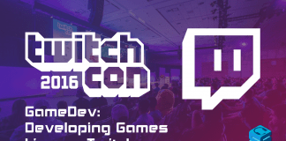 Gamedev developing games live on Twitch TwitchCon 2016