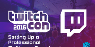 Setting up a professional multicam broadcast TwitchCon 2016