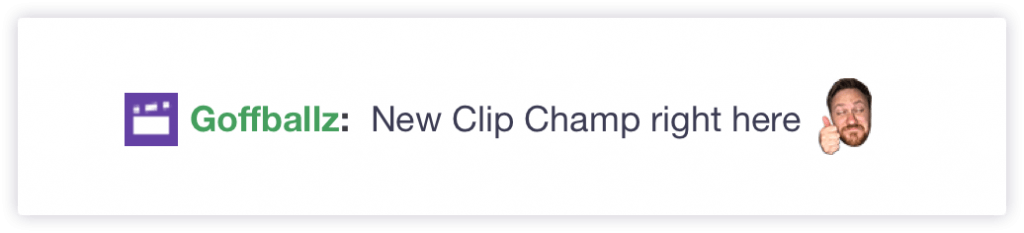 Twitch Clip Champ