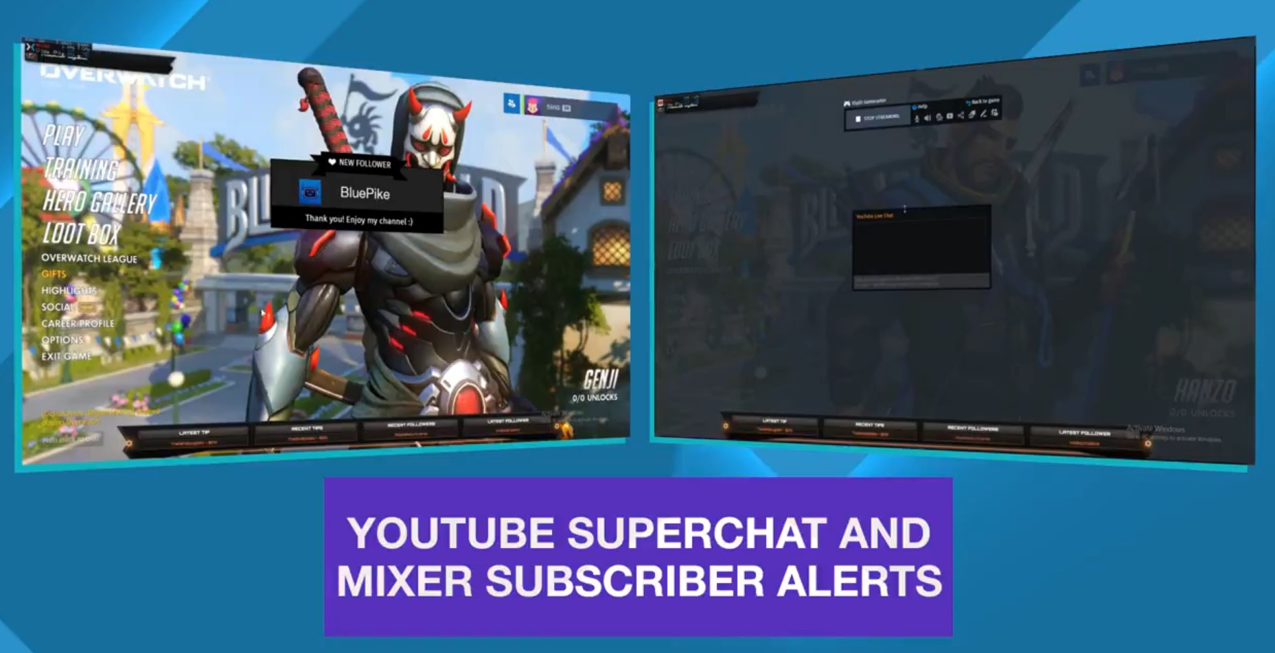 XSplit YouTube Mixer Alerts
