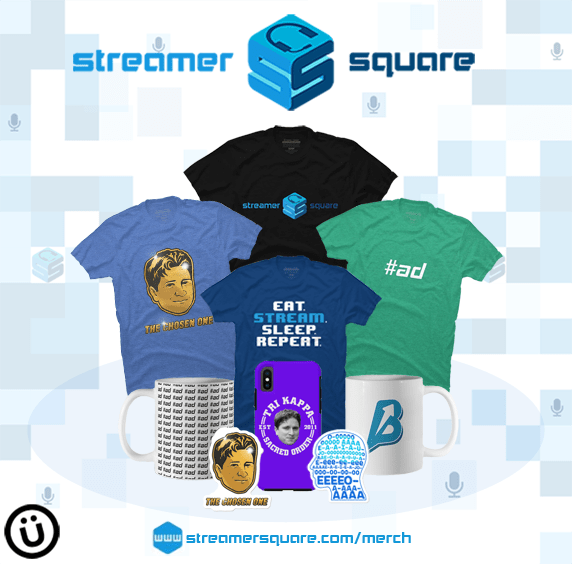 Streamer merch
