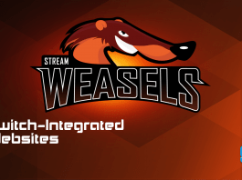 StreamWeasels Twitch Integrated Websites