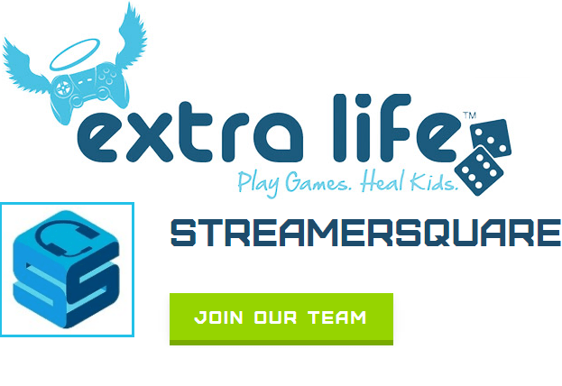 StreamerSquare Extra Life Team