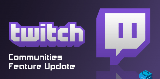 Twitch Communities Feature Update