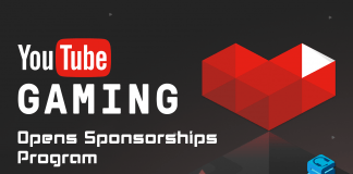 YouTube Gaming Sponsorships