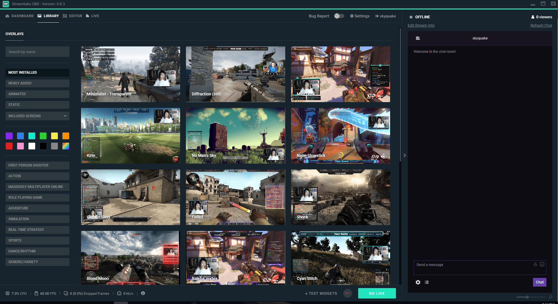 Streamlabs OBS Overlays