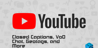 YouTube Closed Captions Vod Chat