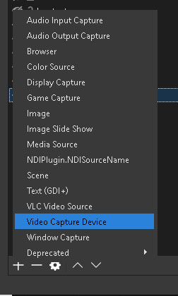 OBS Video Capture Device